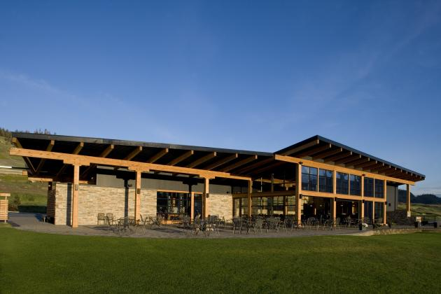 Tobiano Golf Clubhouse - a k a Architecture
