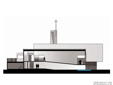 Iglesia San Alberto Hurtado - Saéz Joannon Arquitectos