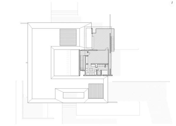 Casa Kübler Planta Primer Nivel - 57Studio
