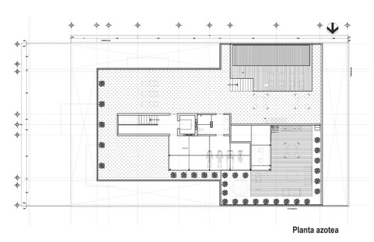 Galileo | Planta Azotea - Pascal Arquitectos