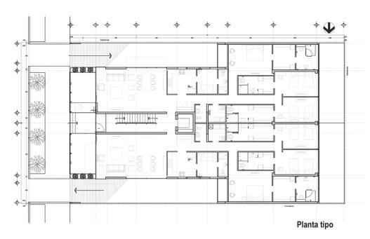 Galileo | Planta Tipo - Pascal Arquitectos