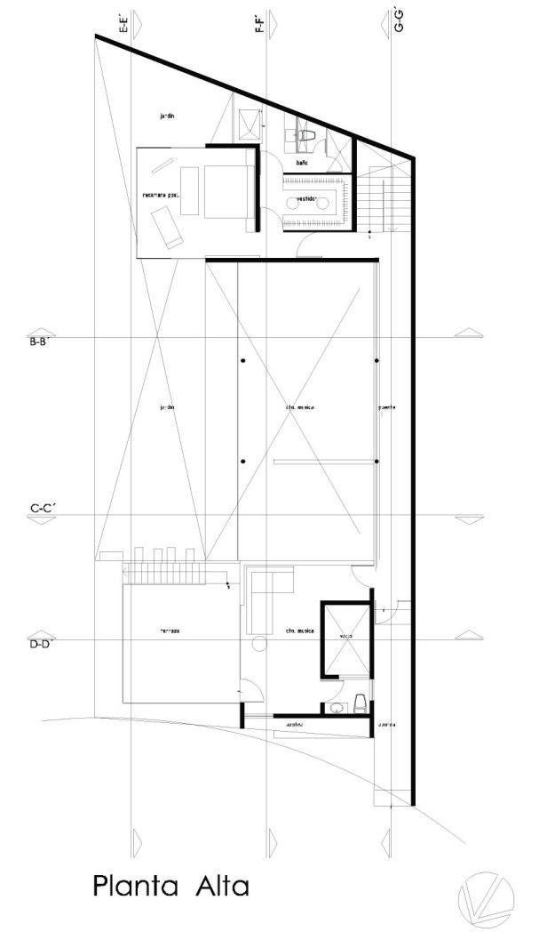 Casa Nogales - Taller 5 arquitectos