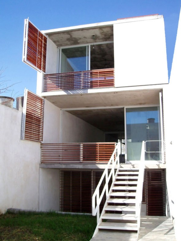 Casa 5x30 - Estudio Borrachia arquitectos