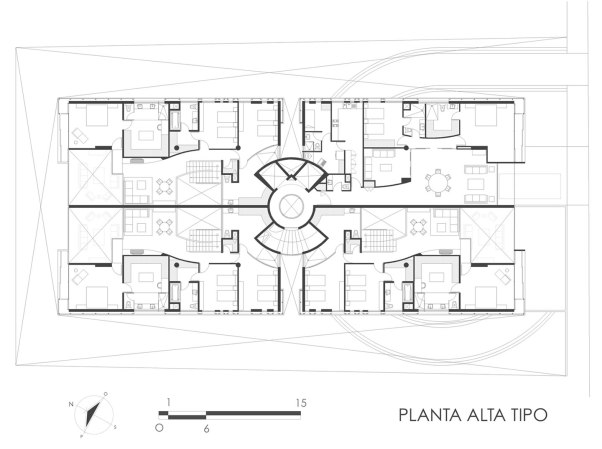Tamarindos 29 - Garduño Arquitectos - Plata Tipo
