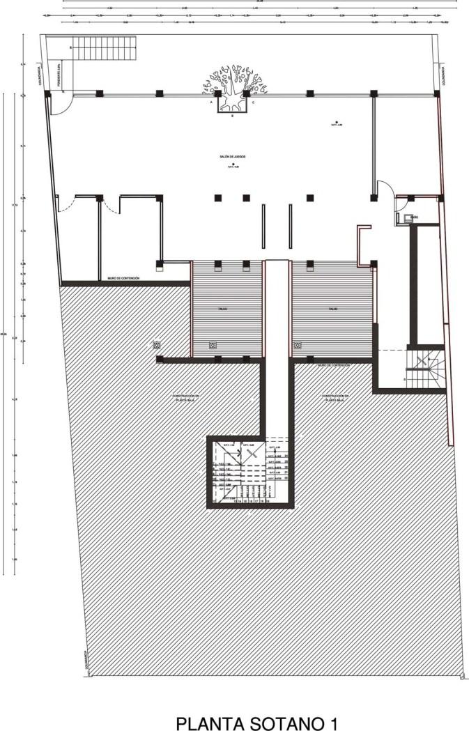 Casa AP - DIN Interiorismo / Planta Sotano