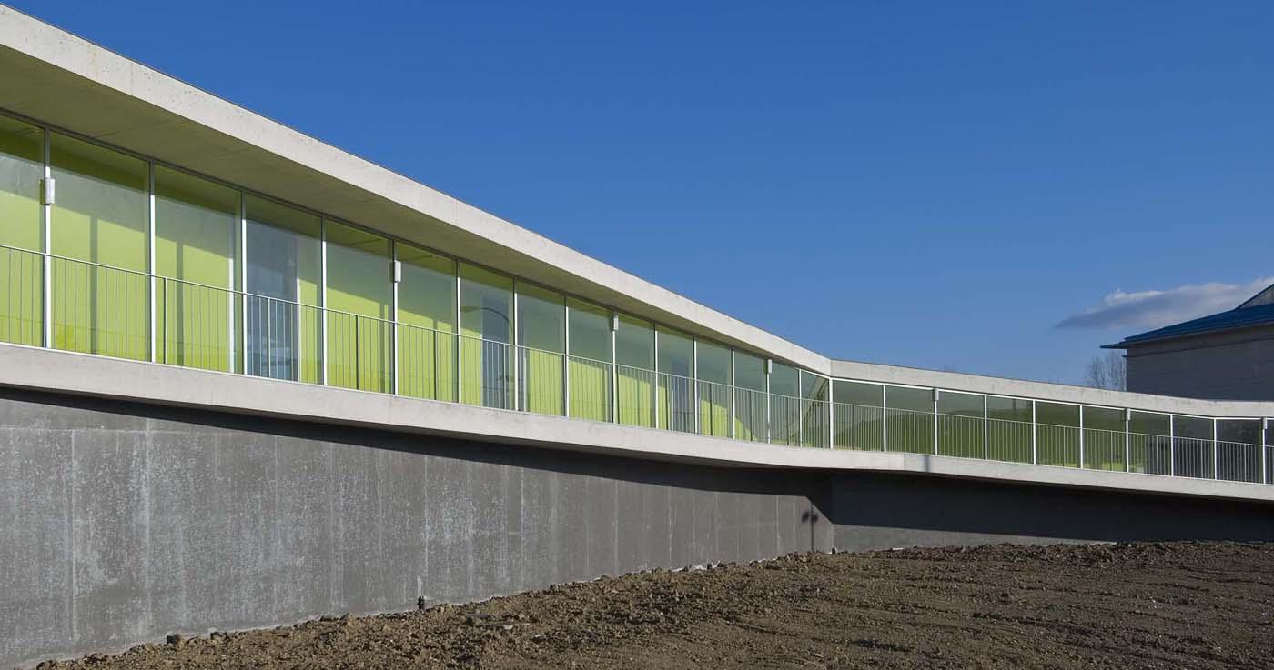 Complejo Deportivo en Esquiroz - virai arquitectos