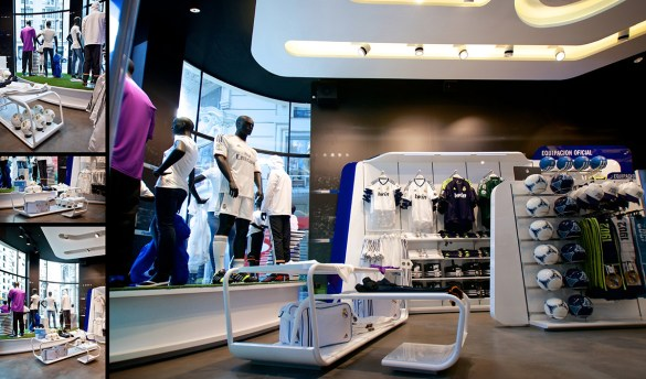 Real Madrid Official Store - sanzpont [arquitectura]