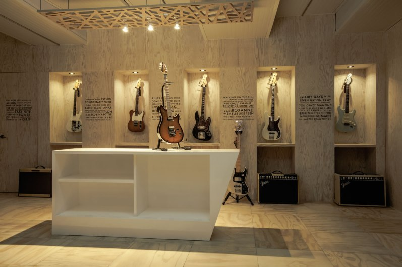 Fender Custom Shop México - Arquitectura en Movimiento Workshop
