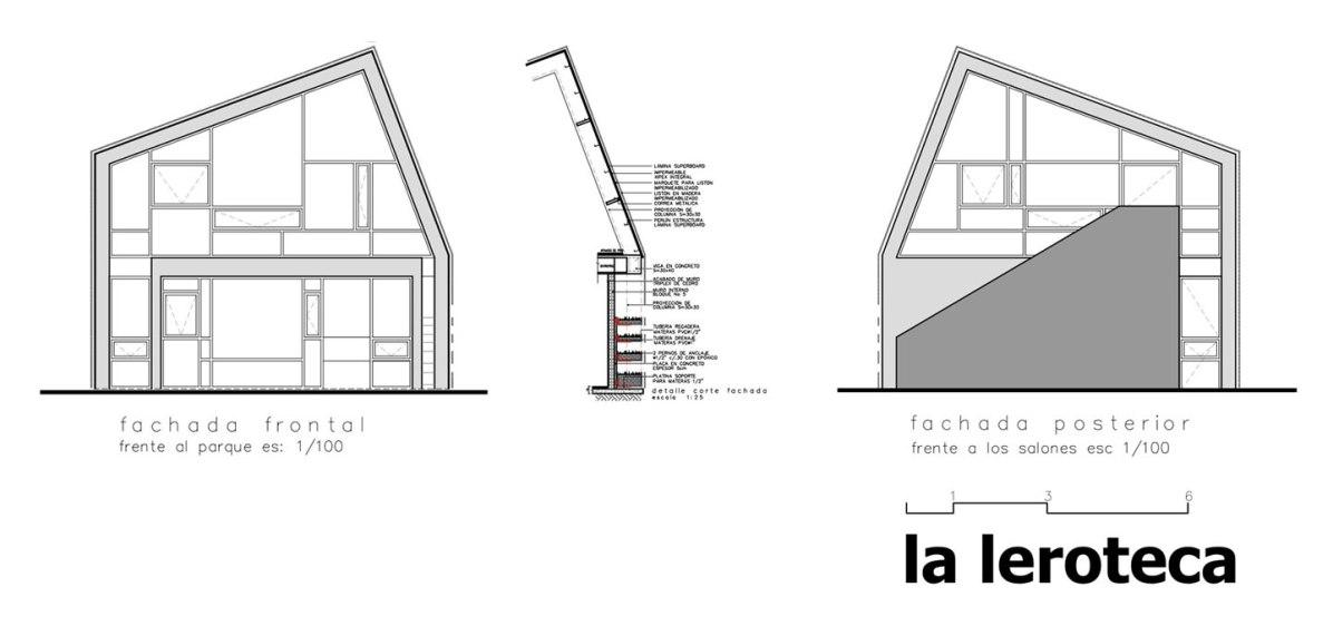 La Leroteca - lacaja arquitectos