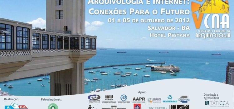 Começa hoje o maior evento de Arquivologia do Brasil!