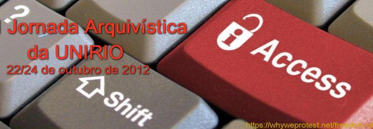 XXIII Jornada Arquivística da UNIRIO – 22 a 24/10