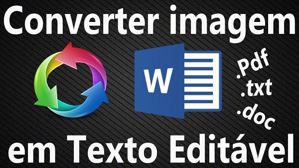 Como converter online uma imagem em um texto editável