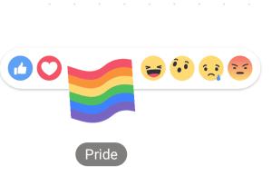 """Saiba como ter o botão """"botão arco-íris"""" no seu Facebook"""