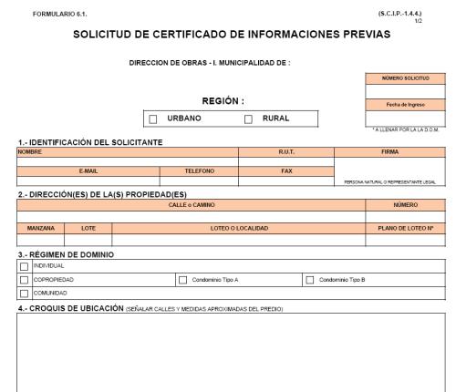 Certificado Informes Previos Como Se Obtiene Arq Dom