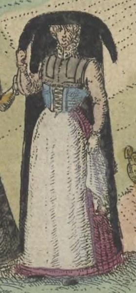 1572 Cologne. Fig 3 page 38b Civitates orbis terrarum, Braun and Hogenberg. Utrecht University obj=000978066