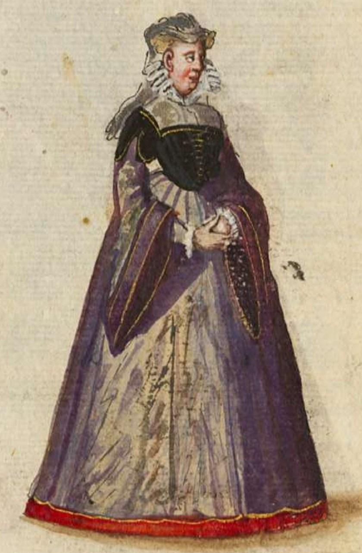 after 1575, Cologne. Fig. 3, ill. 60, Kostüme und Sittenbilder des 16. Jahrhunderts [...] BSB Cod.icon. 361