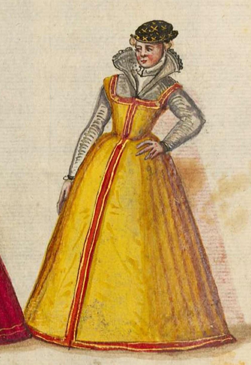 after 1575, Cologne. Fig. 3, ill. 53, Kostüme und Sittenbilder des 16. Jahrhunderts [...] BSB Cod.icon. 361