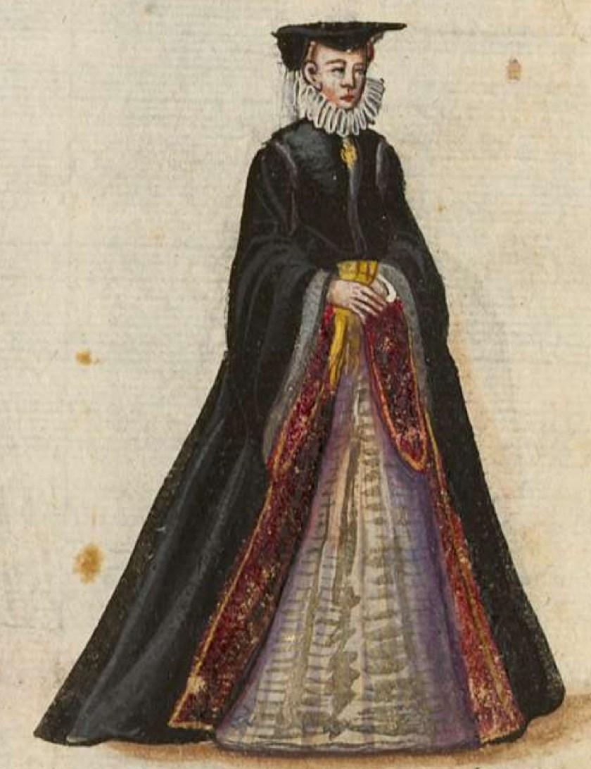 after 1575, Cologne. Fig. 3, ill. 61, Kostüme und Sittenbilder des 16. Jahrhunderts [...] BSB Cod.icon. 361