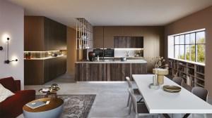 "Cucina Moderna Veneta Cucine ""Lounge"""
