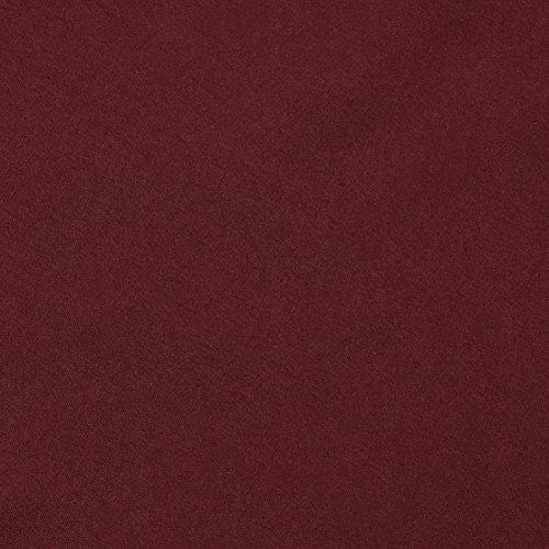 AmazonBasics - Federe in microfibra, 50 x 80 cm, Set di due - Bordeaux