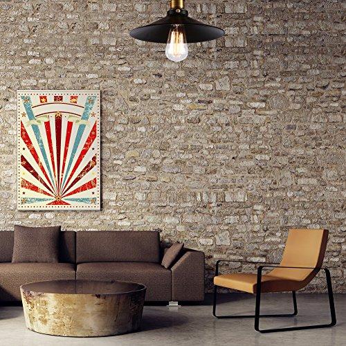 Fuloon Lampadario RetrVintage in stile industriale American Country  Lampadario a sospensione per soffitti ideale per molti ambienti