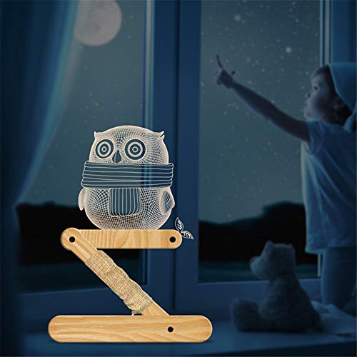 Halloween Legno plastica luce da tavolo a LED con alimentazione USB nero per il Ringraziamento MQUPIN ideale come regalo per i bambini Lampada da tavolo in legno intagliato a forma di cane
