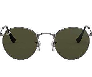 RayBan Unisex  Adulto Rb 3447 Occhiali da sole Grigio Gunmetal 50 mm