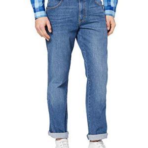 Wrangler Texas Contrast Jeans Blu Worn Blue 079 44W  34L Uomo