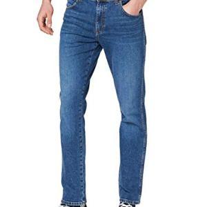Wrangler Texas Jeans Slim Blu Game On 12e 36W  34L Uomo