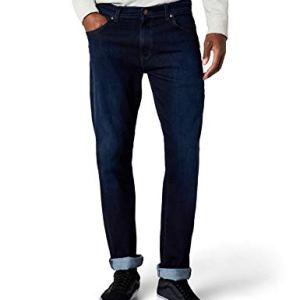 Wrangler TEXAS TONAL Jeans Uomo Blu Blue 34W  36L