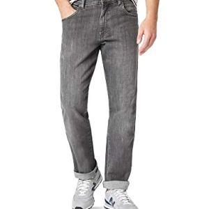 Wrangler TEXAS TONAL Jeans Uomo Grigio Graze 40W  34L