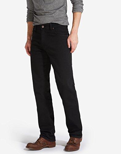 Wrangler Texas Tonal Pantaloni Black Overdye 44W  34L Uomo