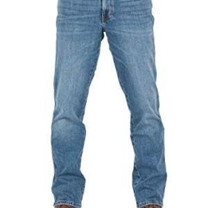 Wrangler W30W44  Jeans da Uomo Texas Stretch Regular Fit Elasticizzati Denim 99 Cotone Blu Blue Whirl W121p311e 33 W36 L