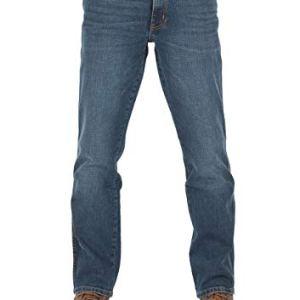 Wrangler W30W44  Jeans da Uomo Texas Stretch Regular Fit Elasticizzati Denim 99 Cotone Blu Blue Blast W121hn11y 30W x 32L