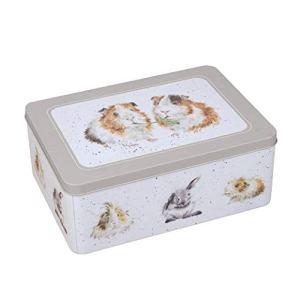 Wrendale DesignsCollezione The Country KitchenScatola in latta rettangolare con disegno cavie