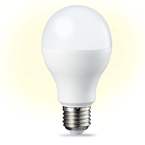 AmazonBasics Lampadina LED E27 14W equivalenti a 100W Luce Bianca Calda Dimmerabile  Pacco da 6