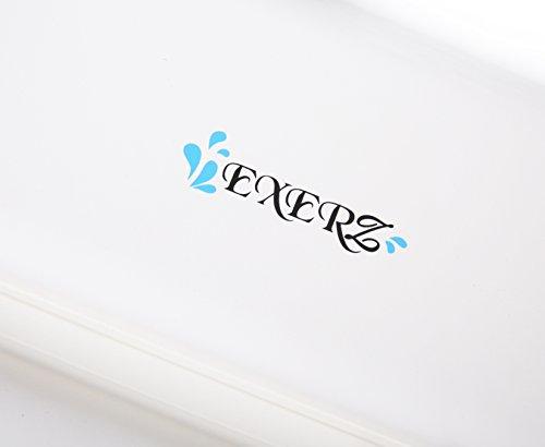 Exerz Cuscini poggiatesta da vascaCuscino di lusso per cuscini da bagno per la nuca e supporto per la schienacuscino vasca da bagno con ventose antiscivolo