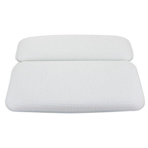Vasca da Bagno Cuscino con Forti Ventose Grandi di aspirazione Vasca Idromassaggio Cuscino Memory Foam Cuscino per Il Collo 7 Ventose Resistenti e Ben fissate Verde HALOViE Bath Pillow