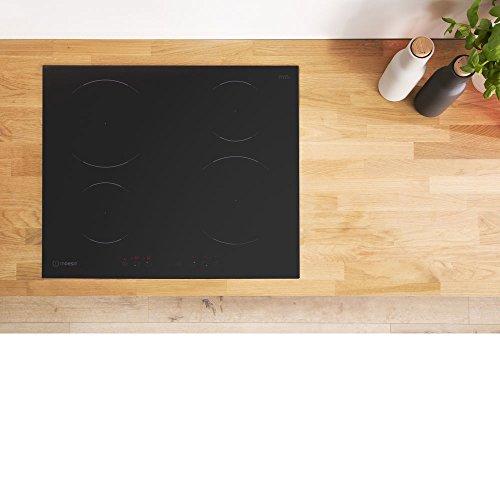 Indesit VIA 640 0 C Piano Induzione GlassCeramic Nero
