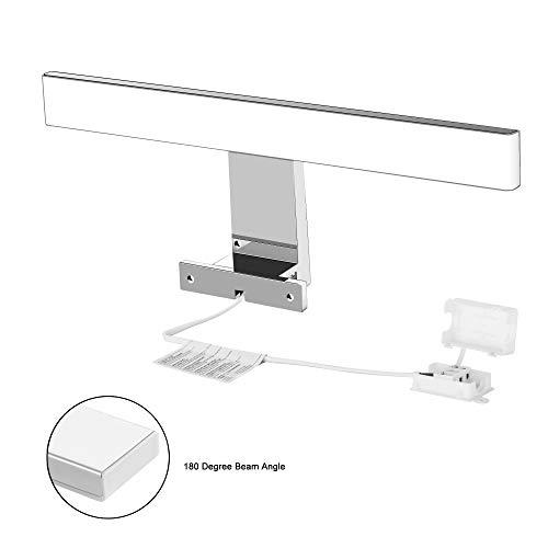 LED Lampada da Specchio 5W AourowSpecchio Armadio Lampada da BagnoLuce per TruccoLunghezza 30cmBianco Neutro 4000K230V IP44500lm