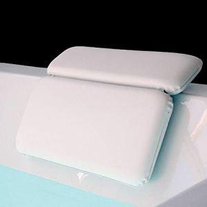 MINGZE Cuscino per Bagno termale Completo Cuscino di Bagno per Vasca da Bagno Jacuzzi Spa e Idromassaggio  Impermeabile  Realizzato con Un Tessuto Morbido Cuscino per Vasca da Bagno con Ventose