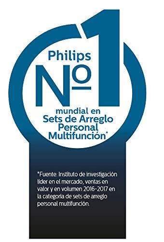 Philips MG7720 Groming Kit Serie 7000 Rifinitore Impermeabile in Acciaio 14 in 1 Barba Capelli e Corpo