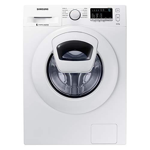 Samsung WW80K4430YWET AddWash Lavatrice 8 kg 1400 Rpm Bianco