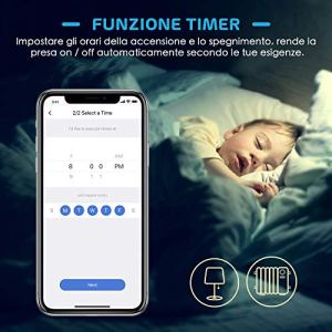 meross Wifi Smart Interruttore Parete Italiana Intelligente 123 Gang Pannello Touch LED Antiurto Elettrico Funzione Timer App Controllo Remoto Compatibile con Amazon Alexa Google Home e IFTTT