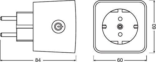 Osram Smart Plug Zigbee Presa Intelligente