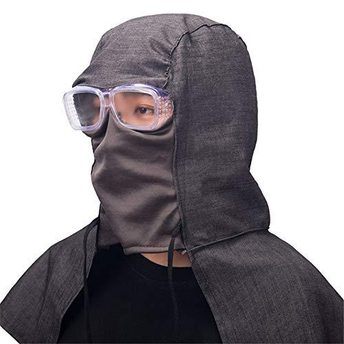 Eight HorsesJ Cappello della Protezione Antipolvere AntiCenere e AntiPolvere Maschera lucidatura Berretto da Cowboy