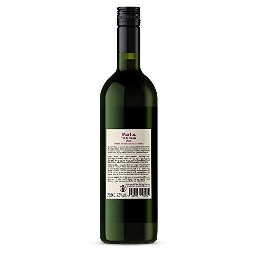 Marchio Amazon  Compass Road Merlot Vino Francese  6 bottiglie da 75 cl