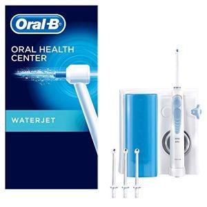 OralB Waterjet Sistema Pulente con Idropulsore e 4 Testine Waterjet Pressione regolabile