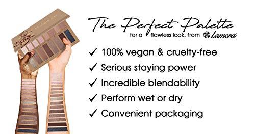 Palette Ombretti Trucchi Make Up Occhi  16 Colori Nudo Satinati e Matte Professionali  Altamente Pigmentata Caldo Bronzo Naturale  Set VeganoNon Testato Sugli Animali