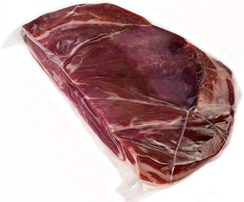 Prosciutto Spagnolo Serrano Spalla Disossato Pulito Circa 1 KG  100 Naturale con Sale Marino del Mediterraneo senza Conservanti o Coloranti